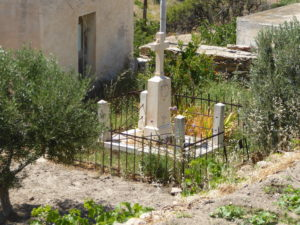 The tomb at the end of terrace